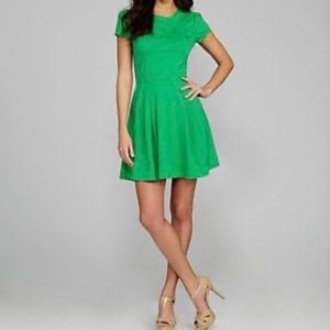 GIANNI BINI Green Short Sleeve Dress